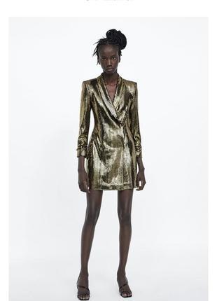 Платье пиджак zara3 фото