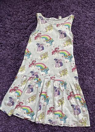 Платье сарафан детское пони h&m's