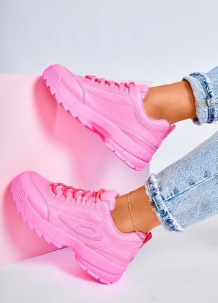 Кроссовки розовые!!!