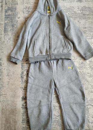 Спортивный костюм для мальчика puma оригинал
