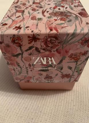 Wonder rose от zara тип аромата:цветочные древесные мускусные.