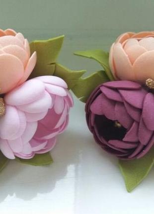 Заколки, резинки  для девочки колекція 2020 handmade velvet