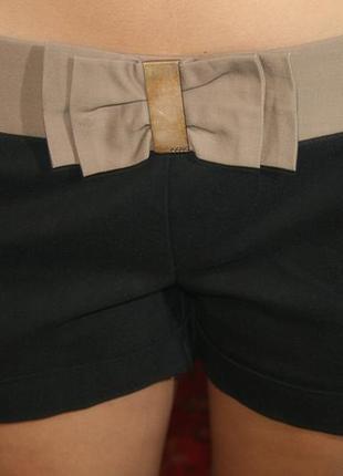 ШИКАРНЫЕ трикотажные короткие черные шорты