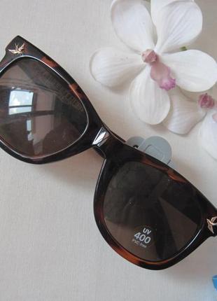 Новые очки six форма wayfarer в пластиковой оправе расцветка леопардовая