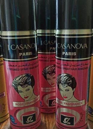 Египет. спрей j.casanova. безболезненное удаление волос.