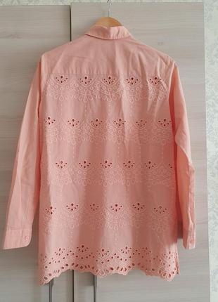 Свободная женская рубашка u.s. polo assn с красивой спиной