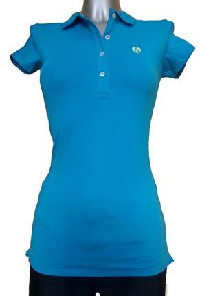 Женская футболка-поло alcott. код п39455