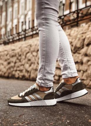 Adidas marathon tech мужские кроссовки весна\лето\осень2 фото