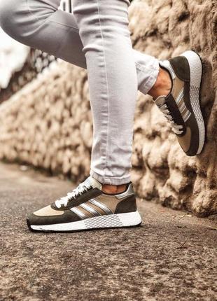 Adidas marathon tech мужские кроссовки весна\лето\осень4 фото