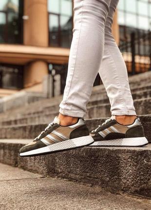 Adidas marathon tech мужские кроссовки весна\лето\осень3 фото