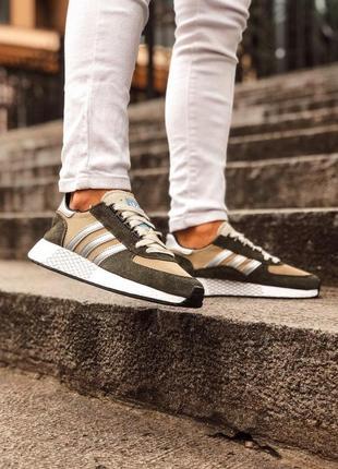 Adidas marathon tech мужские кроссовки весна\лето\осень6 фото