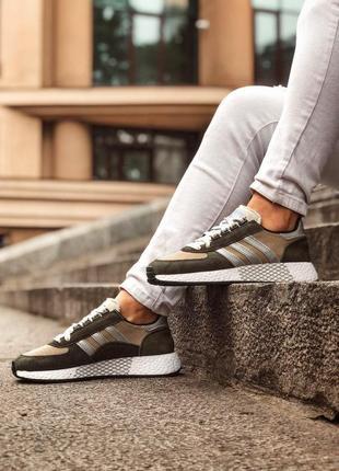 Adidas marathon tech мужские кроссовки весна\лето\осень8 фото