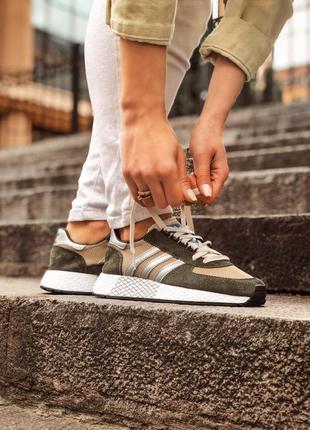 Adidas marathon tech мужские кроссовки весна\лето\осень9 фото