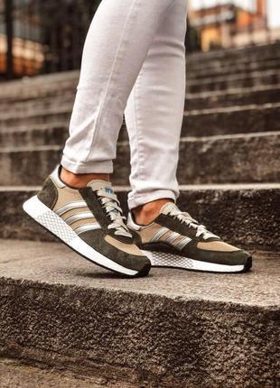 Adidas marathon tech мужские кроссовки весна\лето\осень10 фото