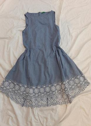 Котоновый сарафан, платье2 фото
