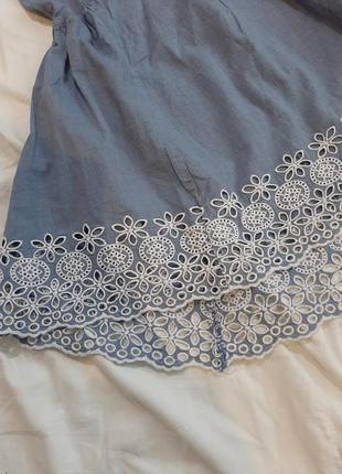 Котоновый сарафан, платье4 фото