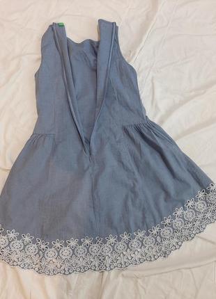 Котоновый сарафан, платье5 фото
