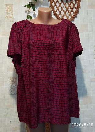 Блуза на пышные формы 83