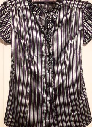 Блуза /рубашка в принт oodji