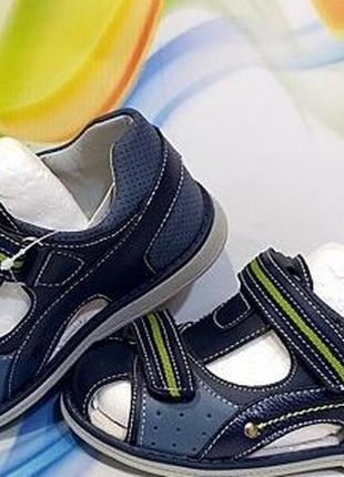 Детские ортопедические босоножки сандали на мальчика том. м. 26-31р
