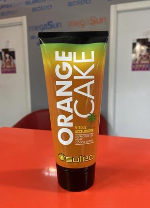 Orange cake крем для загара , крем для солярия ускоритель повышающий упругость кожи