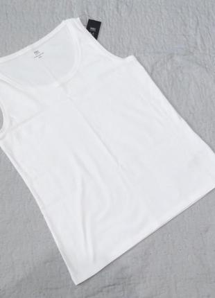 Женская белая майка marks&spencer размер 16