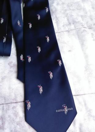 Шикарный галстук castle polo