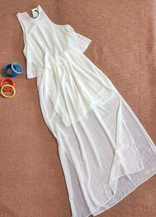 Платье вечернее выпускное длинное с разрезом праздничное легкое скидки🌺 sale