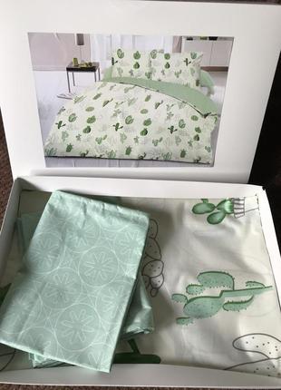 Комплект постельного белья кактусы