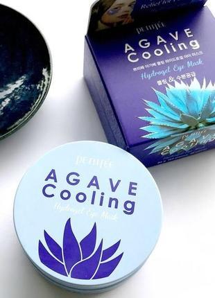 Охлаждающие гидрогелевые патчи с экстрактом агавыpetitfee agave cooling hydrogel eye mask