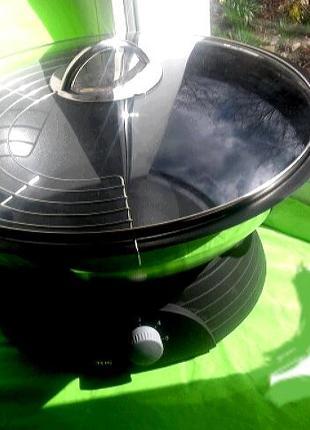 Сковорода електро - wok tcm tchibo нержавіюча сталь