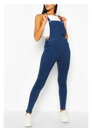 Комбез с джинсами