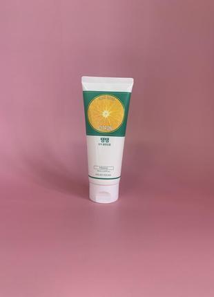 Holika holika daily fresh citron cleansing foam пенка для умывания