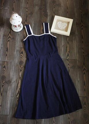 Платье на бретелях с лямками для пояса в стиле винтаж