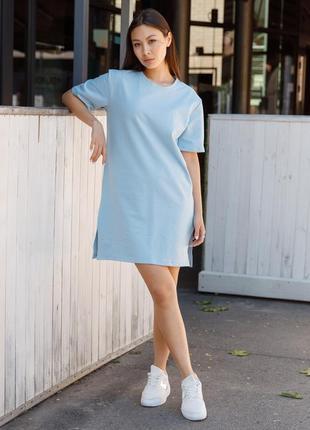 Практичное и удобное платье футболка, идеальный летний вариант (хс-л)