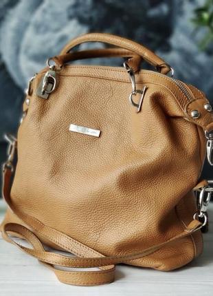 Pablo baldini. сумка из натуральной кожи.