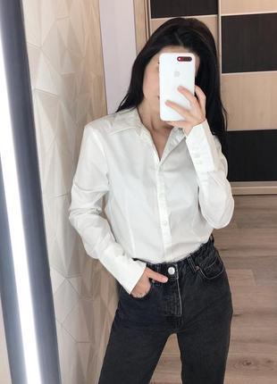 Новая белая базовая классическая рубашка от dorothy perkins