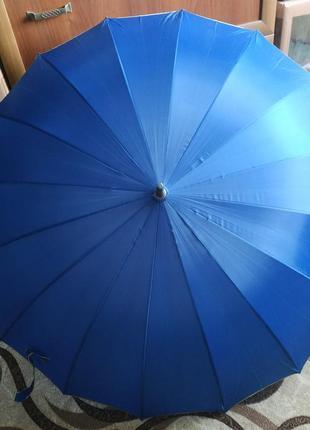 Зонт зонтик-трость семейный большой