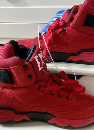 Мужские красные кроссовки patrick ewing