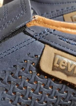 Летние мужские кожаные туфли наложенный платеж обмен возврат6 фото