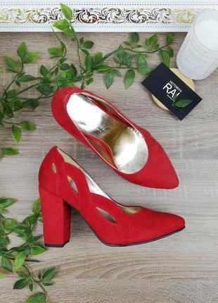 🌿35🌿натуральная замша. классные туфли на устойчивом каблуке