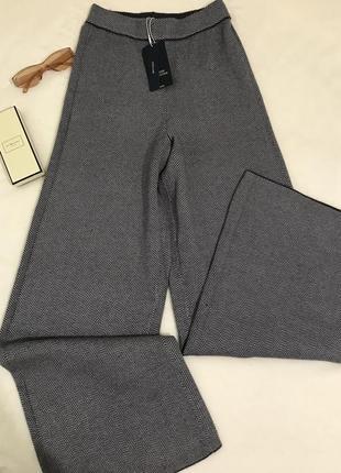 Штаны кюлоты zara knit