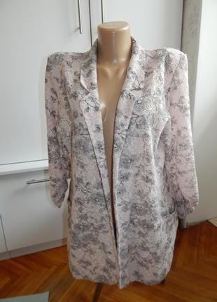 Next пиджак жакет кардиган гипюровый ажурный модный р14