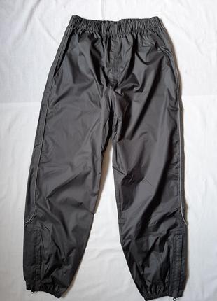Брюки дождевики р 146\152 непромокаемые штаны дождевики