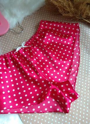Лёгкие короткие шортики для сна/для дома. нижнее бельё.