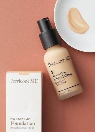 Тонирующее средство - perricon no make up no foundation