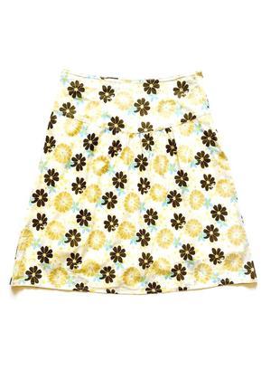 Летняя хлопковая юбка only, s-m