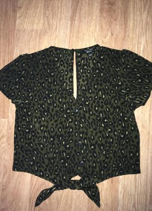 Укороченая блузка