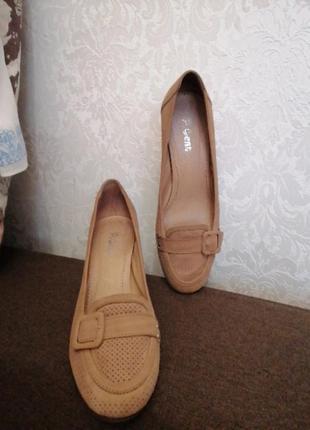 Мягкие туфли paolo conte 38,  38,5