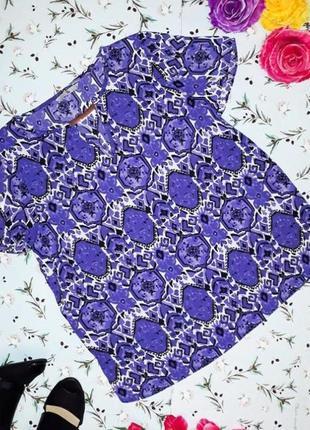 🎁1+1=3 нарядная яркая блуза блузка tu, размер 48 - 50